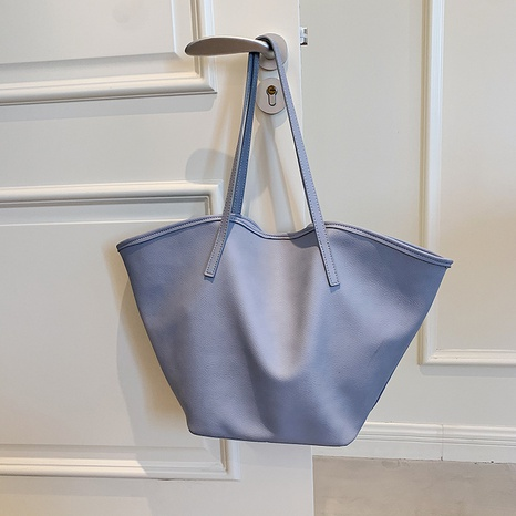 Fashion large-capacity fan-shaped shell portable tote bag wholesale NHJZ374109's discount tags