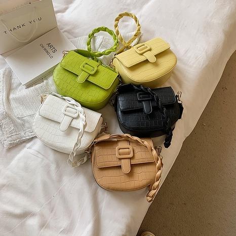 Korean retro crocodile pattern single shoulder small bag wholesale NHJZ374220's discount tags