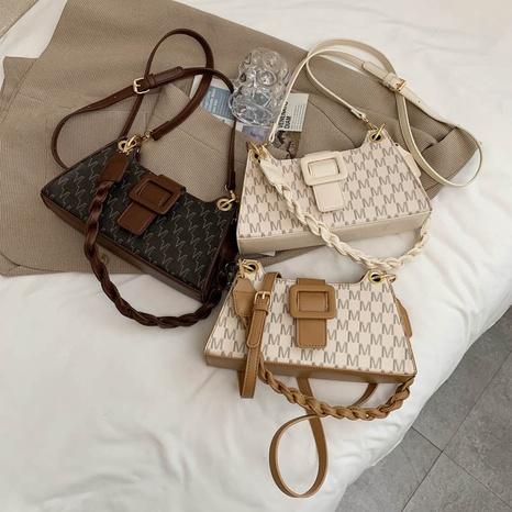 fashion letter pattern one-shoulder messenger bag wholesale NHJZ374225's discount tags