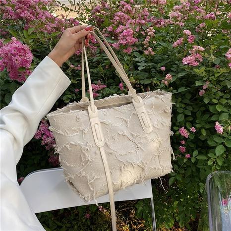 fashion large-capacity single-shoulder tote bag wholesale NHJZ374229's discount tags