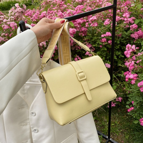 fashion candy color one shoulder messenger small square bag wholesale NHJZ374230's discount tags