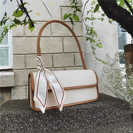 fashion hit color bow messenger small square bag wholesale NHJZ374235's discount tags