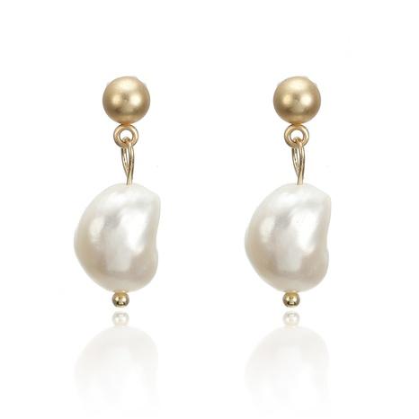 Nihaojewelry koreanische Art gefrostete Perlenohrringe in Tropfenform Großhandel Schmuck NHGQ374815's discount tags