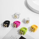 wholesale jewelry fashion candy color combination ring nihaojewelry NHLL374839