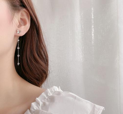 Nihaojewelry Schmuck Großhandel Schmetterling lange Quaste Ohrringe NHOT374541's discount tags