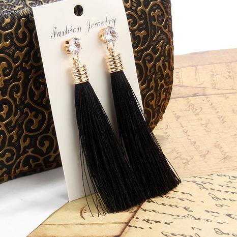 wholesale jewelry fashion bohemian long tassel earrings nihaojewelry NHAYN375007's discount tags