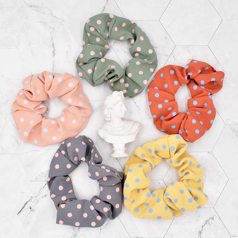 Nihaojewelry Classic Fabric Polka Dot Head Scrunchies Wholesale jewelry NHCL375127