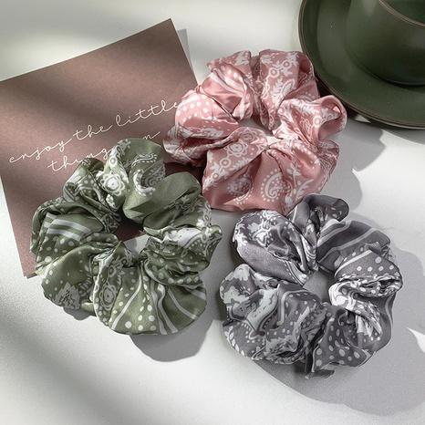 Nihaojewelry scrunchies de cabeza de impresión floral de estilo coreano joyería al por mayor NHOF375435's discount tags