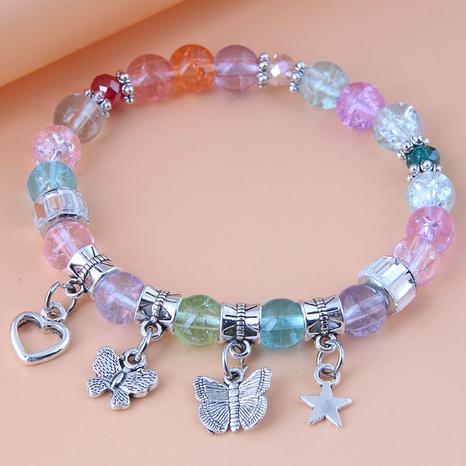 Nihaojewelry jewelry wholesale geometric multi-element pendant bracelet NHSC376085's discount tags