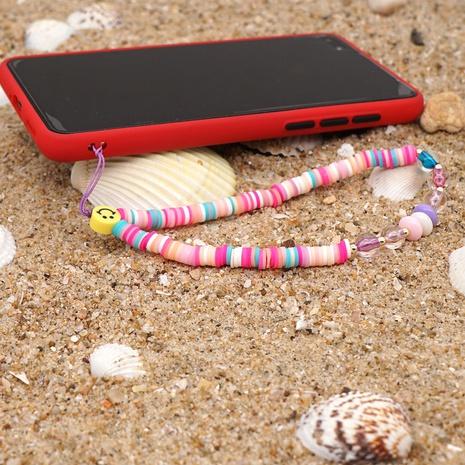 bohemian ethnic smiley anti-lost mobile phone lanyard NHYUZ360948's discount tags