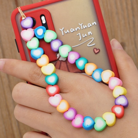 Simple bohemian ethnic color beaded mobile phone lanyard   NHYUZ360949's discount tags