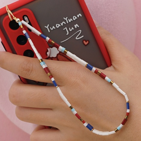 bohemian ethnic personality fashion beaded mobile phone chain NHYUZ360955's discount tags