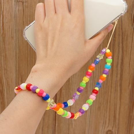 Simple bohemian ethnic phantom color star mobile phone chain  NHYUZ360989's discount tags