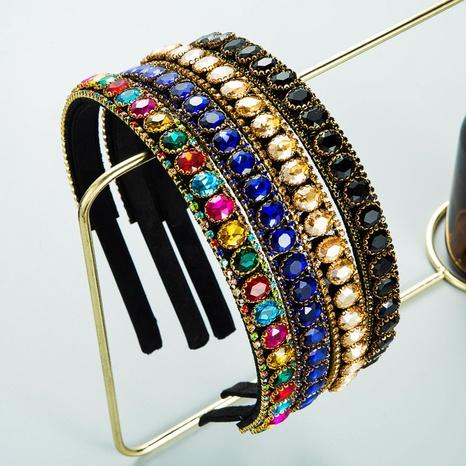 Ovales Glasdiamant-Stirnband im koreanischen Stil style NHLN361199's discount tags