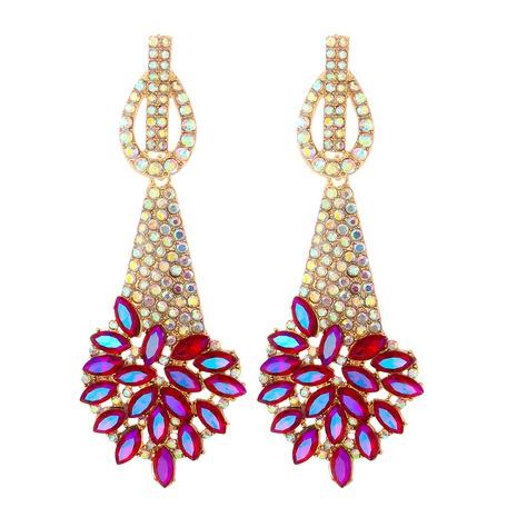 boucles d'oreilles en alliage géométrique diamant couleur mode NHJJ361247's discount tags