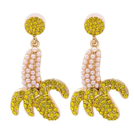 personnalité de la mode exagérée boucles d'oreilles banane faites à la main NHJJ361248's discount tags
