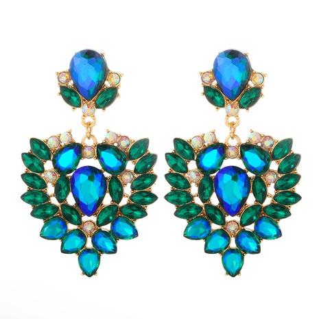 boucles d'oreilles en alliage géométrique diamant couleur mode NHJJ361251's discount tags