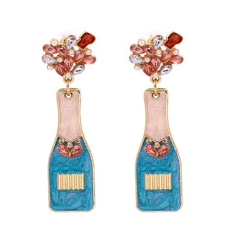 Boucles d'oreilles baroques rétro avec diamants Van Gogh Vase Tournesol NHJJ361253's discount tags