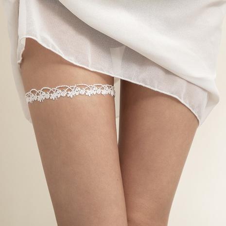 Chaîne de jambe en dentelle simple rétro sexy NHXR361385's discount tags