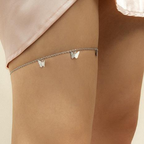 Chaîne de jambe à pompon géométrique rétro NHXR361395's discount tags