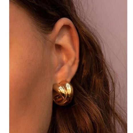 boucles d'oreilles géométriques en alliage de mode en gros NHCT361458's discount tags