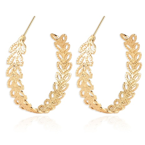 retro alloy leaf alloy earrings NHCT361488's discount tags