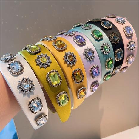 barocke farbe diamant breites stirnband großhandel NHHD361624's discount tags