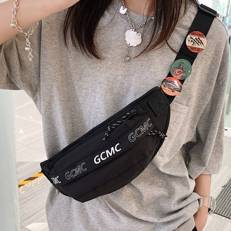 Nihaojewelry wholesale accessories solid color sports messenger chest bag  NHLH375707's discount tags