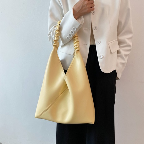 wholesale accessories candy color large-capacity tote bag Nihaojewelry NHLH375769's discount tags