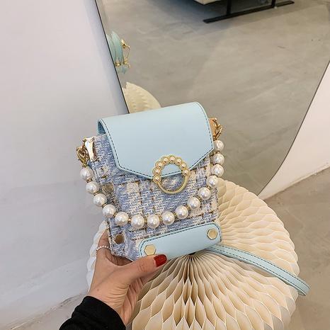 nihaojewelry mode perle hängender messenger kleine quadratische tasche großhandel NHJZ375830's discount tags