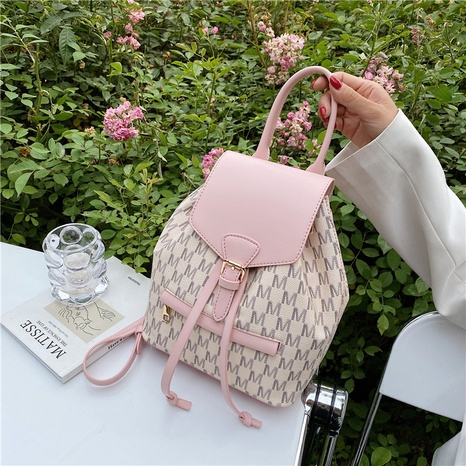 wholesale accessories hit color drawstring backpack Nihaojewelry NHJZ375846's discount tags