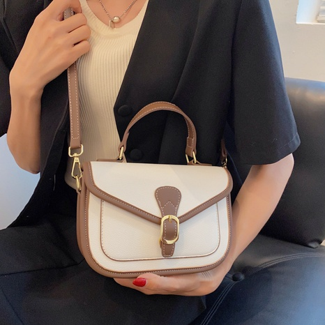 Nihaojewelry wholesale accessories retro contrast color small square bag  NHTG375904's discount tags