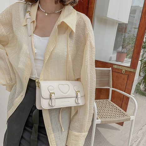 wholesale accessories embossed square shoulder bag Nihaojewelry NHTG375946's discount tags