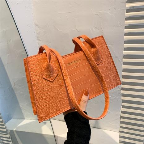Nihaojewelry Mode einfarbig Schulter Messenger Handtasche Großhandel NHXC376020's discount tags