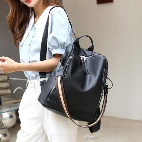wholesale accessories fashion rivet large-capacity backpack Nihaojewelry NHJZ375815's discount tags