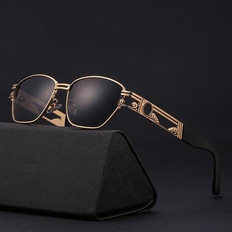 gafas de sol de hombre de caja pequeña de moda de estilo punk NHLMO361809's discount tags
