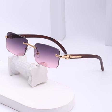 gafas de sol con montura pequeña y personalidad retro NHLMO361811's discount tags