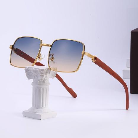 gafas de sol con montura cuadrada grande de moda NHLMO361815's discount tags