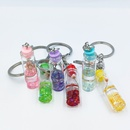 fashion plant dried flower glass bottle keychain  NHDI361991