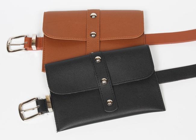 Cinturón de riñonera con remache coreano NHJSR362020's discount tags