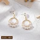 Fashion Pearl Bow Earrings Wholesale  NHWB362081