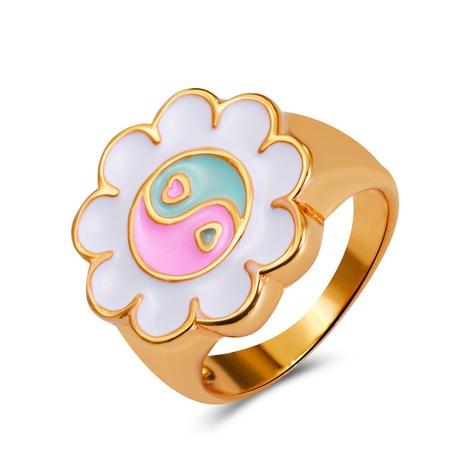 bague de Tai Chi potins de fleurs de mode NHMO362156's discount tags
