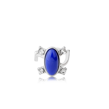 Fashion round crystal opening ring  NHMO362159's discount tags