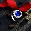 fashion big crystal diamond ring NHMO362162