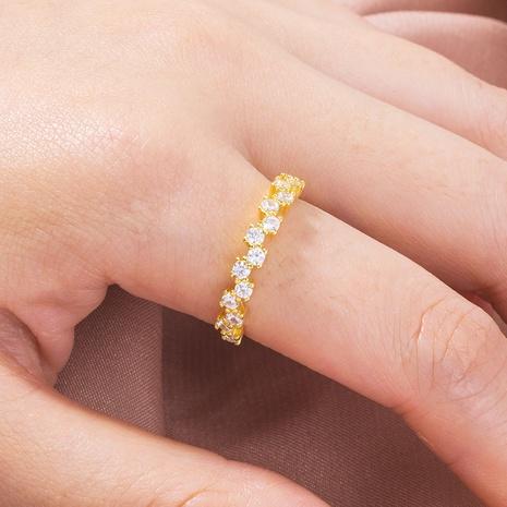 Fashion star constellation zircon ring  NHAN362229's discount tags
