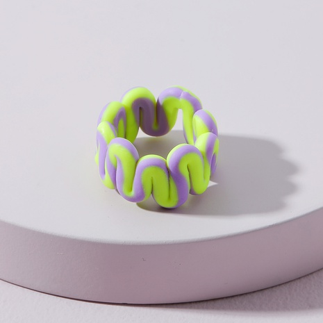 fashion soft clay wide ring  NHLU362293's discount tags