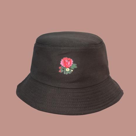 Koreanischer Stil Mode Blume Fischerhut mit breiter Krempe NHAMD362373's discount tags