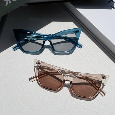 Gafas de sol multicolores ojo de gato puntiagudas triangulares de moda NHXU362435's discount tags