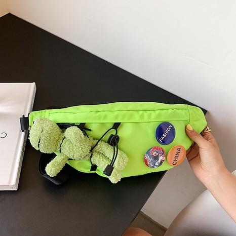 bolso lindo de la cintura de la lona del mensajero de la muñeca de la moda NHLH362524's discount tags