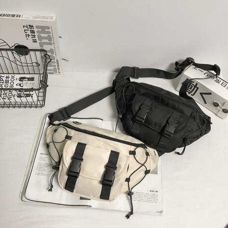 Bolso de la cintura del mensajero de la impresión coreana al por mayor NHLH362603's discount tags